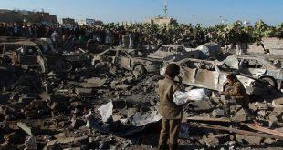 السعودية تمزق اجساد اليمنيين العزل بالصواريخ والقنابل